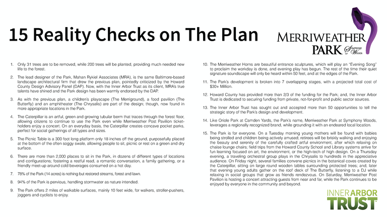 15 reality checks on the Inner Arbor plan
