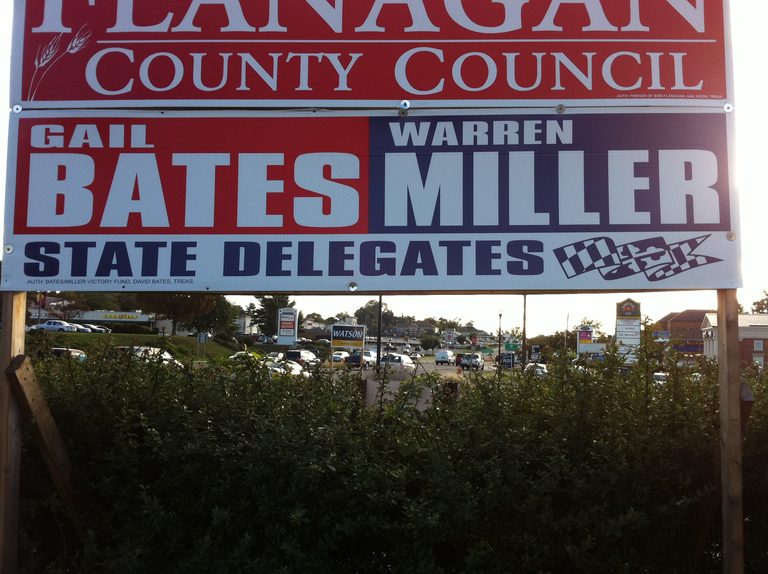Gail Bates and Warren Miller for Delegate (2010) (large)