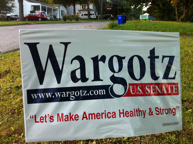 Eric Wargotz for US Senate (2010)