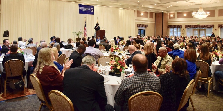 Attendees at the Howard County Democrats 2019 Unity Dinner