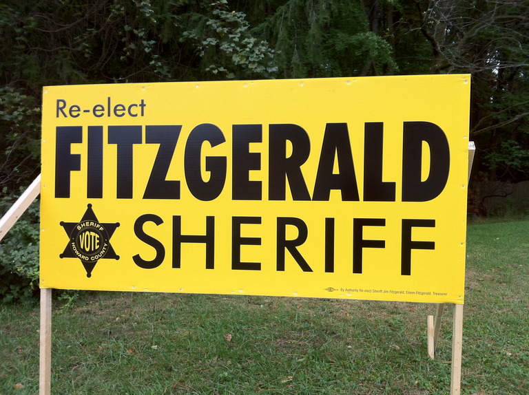 Jim Fitzgerald for Sheriff (2010)