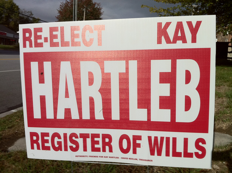 Kay Hartleb for Register of Wills (2010)