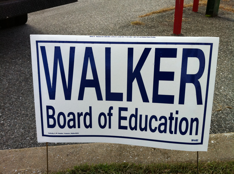 Larry Walker for Board of Education (2010)