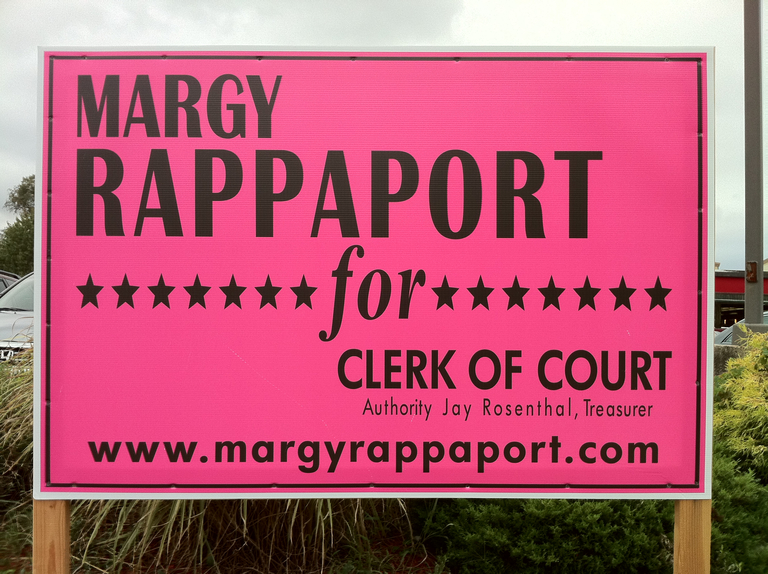 Margy Rappaport for Clerk of Court (2010)