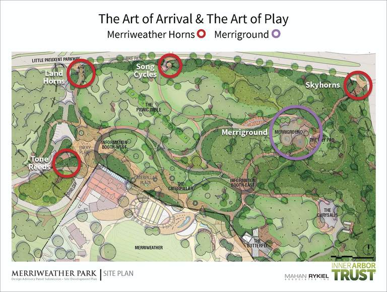 Revised Merriweather Park plan