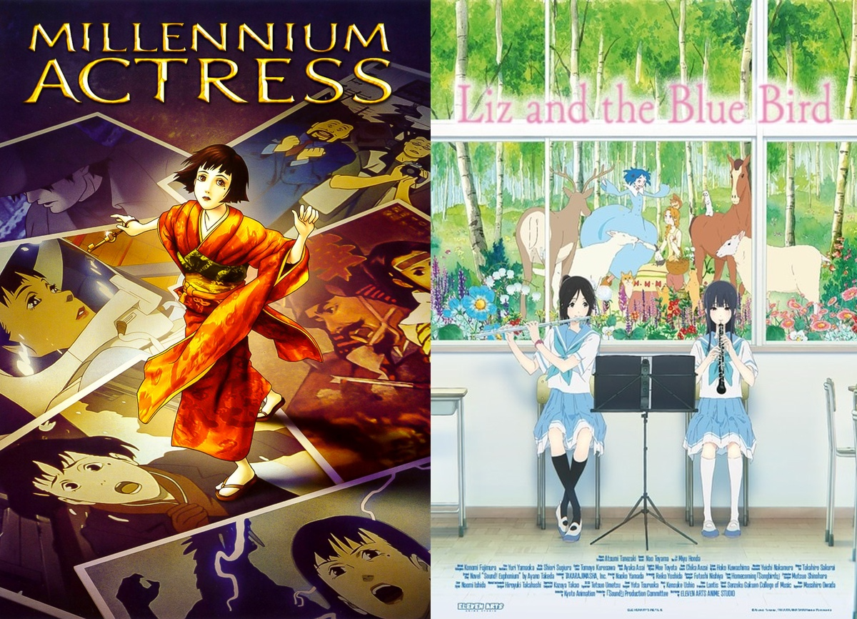 Posters for Millenium Actress and Liz and the Blue Bird