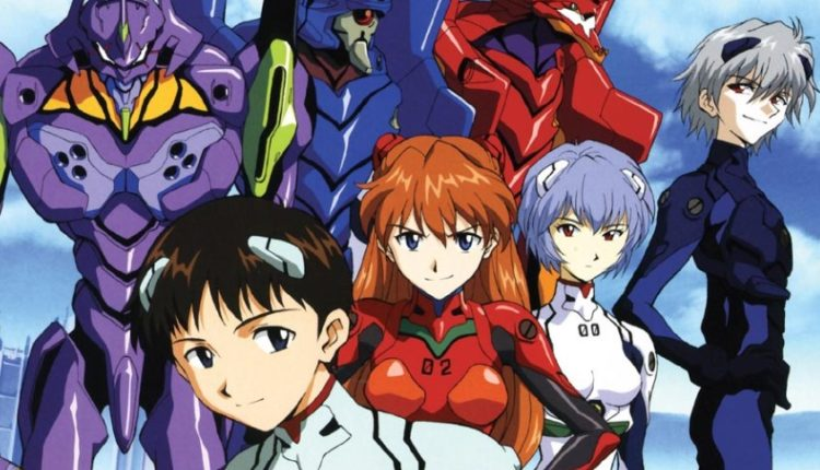 The cast of Neon Genesis Evangelion