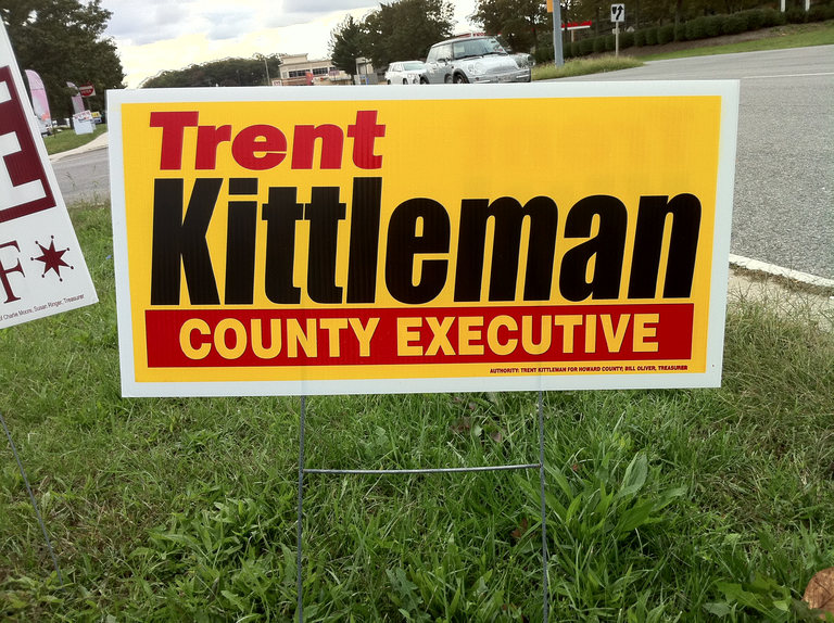 Trent Kittleman for County Executive (2010)